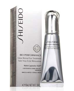 anti wrinkle eye cream-shiseido-bio-glow